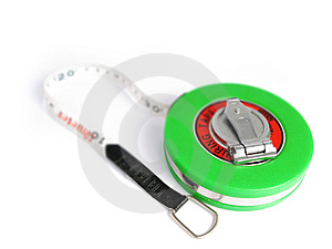 Tape Measuring Tool Royalty Free Stock Photo - Image: 4666745