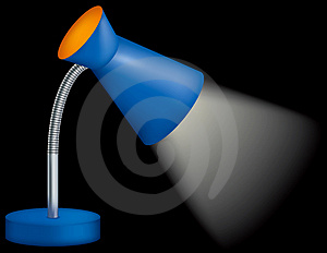 Detailed Desk Lamp Stock Image - Image: 4669891