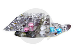 Píldoras En Paquete De Ampolla Fotos de archivo libres de regalías - Imagen: 4671348