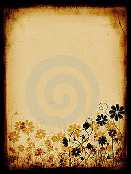 Grunge background, old paper Royalty Free Stock Images