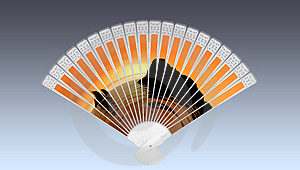 Chinese Fan, Royalty Free Stock Photo - Image: 4682915