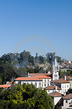 Pal�cio Nacional De Sintra Stock Photos - Image: 4685043
