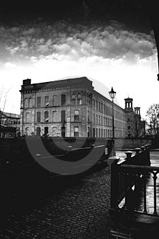 Salts Mill Stock Images - Image: 4685544