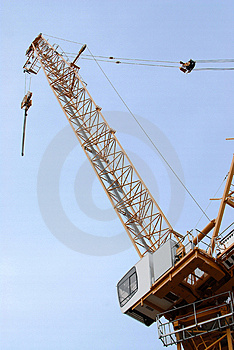 Lifting Crane Royalty Free Stock Photography - Image: 4692207