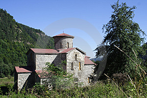 Aging Church ՠage In Mountain Royalty Free Stock Photography - Image: 4693737