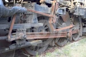 Locomotive Wheels 2 Stock Photography - Image: 470592