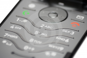 Cell Phone Keypad (Close View)