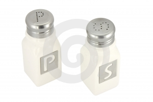 Saltshaker And Pepper Container Stock Image - Image: 477291