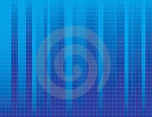 Fondo a strisce blu Immagini Stock Libere da Diritti