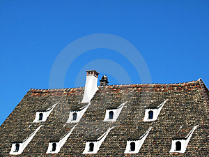 Traditional French Roof Royalty Free Stock Image - Image: 4712356