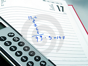 Calculation And Calculator Stock Images - Image: 4715784