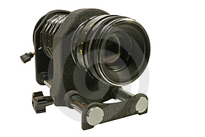 Macro Bellows With Lens Stock Photo - Image: 4715830