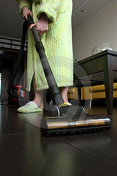 Housekeeping Stock Photo
