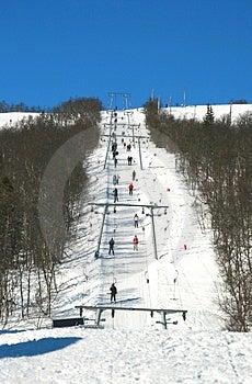 Ski Lift Royalty Free Stock Images - Image: 4720139