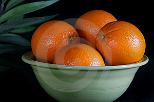 A Bowl Of Wholesome Oranges Royalty Free Stock Photography - Image: 4726187