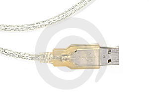 USB Connector Stock Image - Image: 4730861