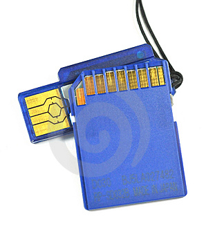 IC Storage SD Card Stock Images - Image: 4730884