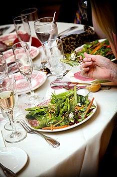 Salad appetizer Free Stock Photos