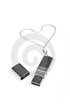 Flash Drive Royalty Free Stock Photos - Image: 4733368