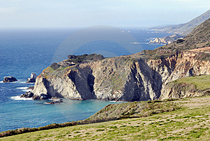 Big Sur En Californie Images stock - Image: 4735704