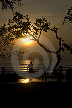Lover At Sunrise Stock Images - Image: 4735734