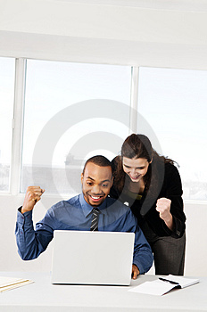 Business Couple Free Stock Photography