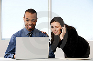 Business Couple Free Stock Images