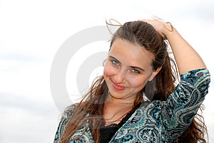 Flirty Look Stock Images - Image: 4738694