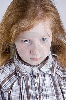 Sad Looking Girl Stock Photo - Image: 4751870