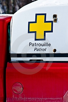 A Rescue Patrol Vehicle For A Ski Resort Stock Images - Image: 4752364