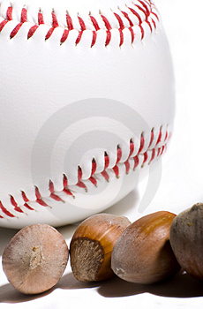 Are You Nut About Baseball ? Stock Images - Image: 4754484