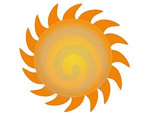 The Sun vector 3 Free Stock Photos