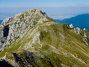 Carpathian: Bucsoiu Ridge Royalty Free Stock Image - Image: 4755866