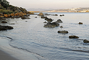 Row Of Rocks Royalty Free Stock Photo - Image: 4756845