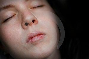 Sleeping Stock Image
