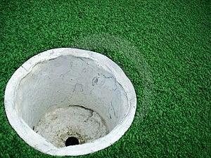 Пустая чашка гольфа Стоковое Фото - изображение: 4760060