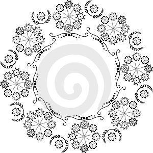 Cirkelelement Royalty-vrije Stock Foto - Afbeelding: 4761515