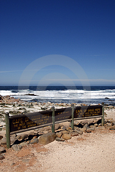 Cape Of Good Hope Signpost Royalty Free Stock Photos - Image: 4761828