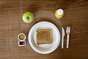 Peanutbutter And Jelly Breakfast Stock Photography - Image: 4762642