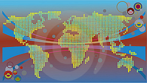 Communicational Map Stock Photos - Image: 4765643