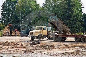 Dump-track Royalty Free Stock Photography - Image: 4770757