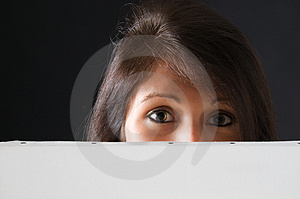 Billboard Hazel Eyes Stock Photography - Image: 4774832