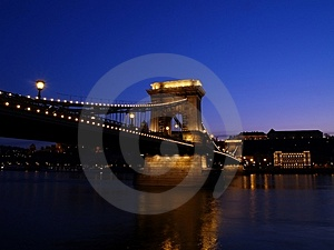 Chain Bridge Royalty Free Stock Photos - Image: 4779788