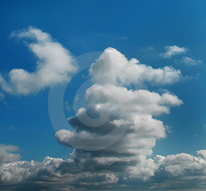 Series-image Of The Cloudy Sky Royalty Free Stock Image - Image: 4786376