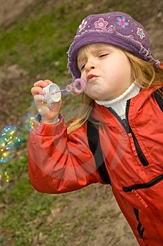 Blow Bubbles Stock Images - Image: 4788404
