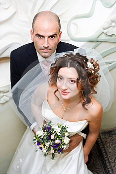 Just Married Young Couple Stock Photos - Image: 4790203