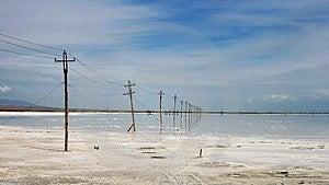 The Caka Salt Lake Royalty Free Stock Photo - Image: 4791695