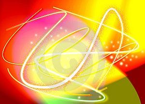 Futuristic Light Swirls Stock Image - Image: 4791841