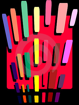 Pencil Stroke Abstract Royalty Free Stock Photo - Image: 4793065