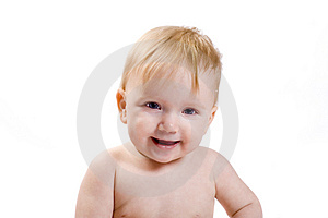 Laughing Baby Royalty Free Stock Photo - Image: 4793405